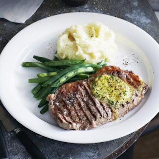 Sirloin Steak with Cafe De Paris Butter.