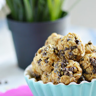Oatmeal Peanut Butter Protein Bites.