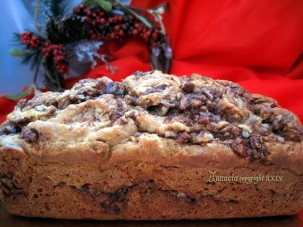 Eggnog Cinnamon Swirl Bread Recipe