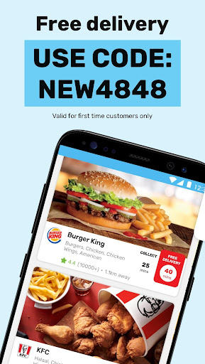 Mr D Food - delivery & takeaway screenshot 1