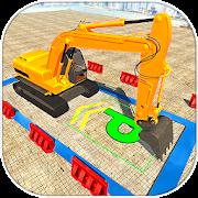 Construction Machines Parking Simulator 2018