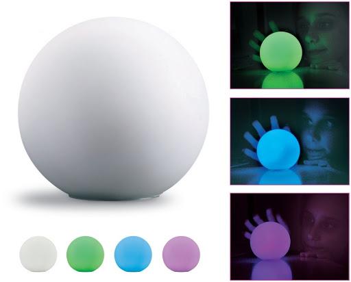 Printed Sphere Mood Light