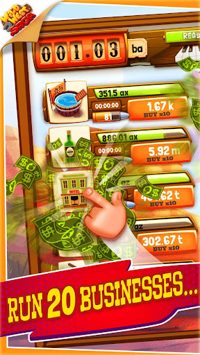 Idle Tycoon: Wild West Clicker Game - Tap for Cash modavailable screenshots 1