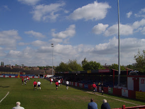 Photo: 14/05/05 - Sandiacre v Dunkirk (CML Cup Final at Alfreton Town FC) - contributed by Mike Latham