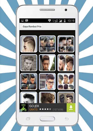 Hairstyle - Rambut Pria
