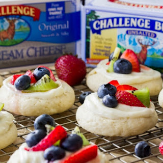 Fruit Pizza Cookies.