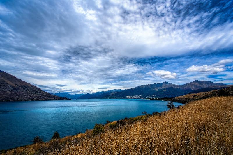 """Photo: """"Queenstown Arrival"""" - Queenstown, New Zealand"""