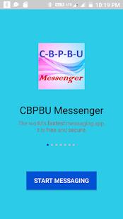 CBPBU Messenger - náhled