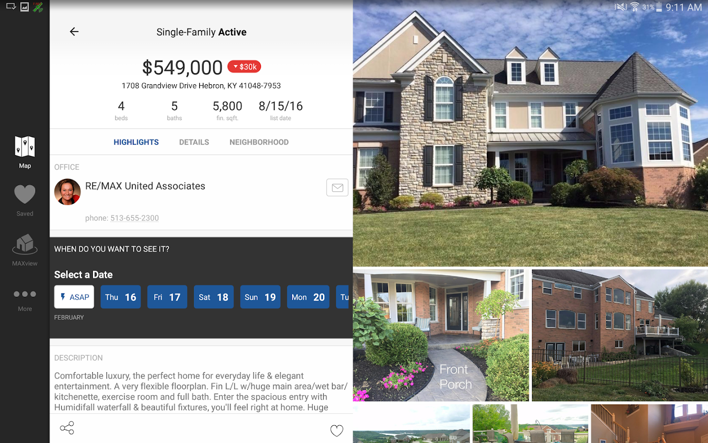RE/MAX of Southern Ohio- screenshot