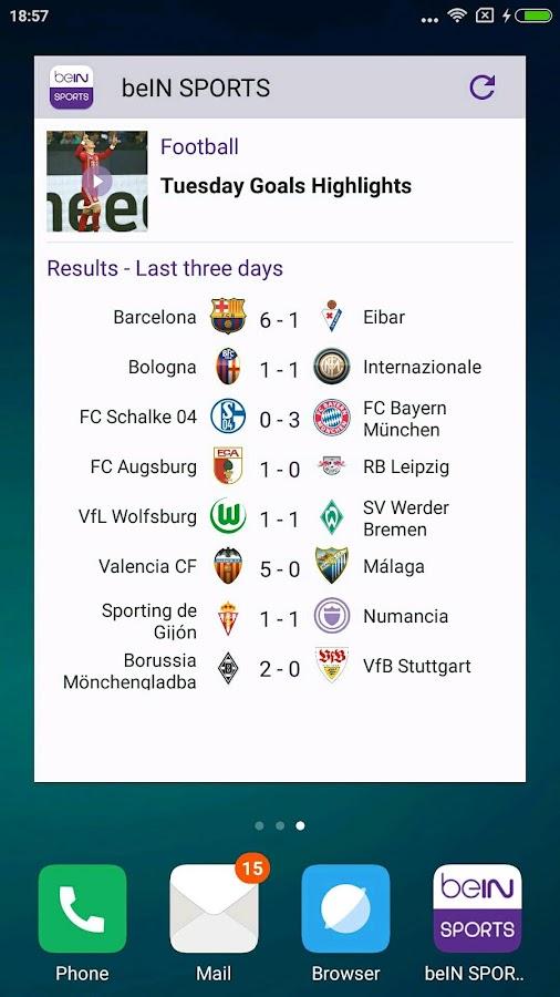 Be In Sports App