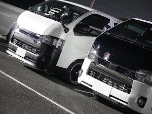 ハイエース TRH200V SUPER GL 2018年式のカスタム事例画像 keiji@黒バンパー愛好会さんの2020年11月13日22:42の投稿