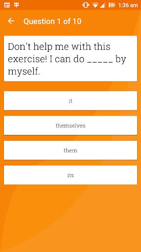 English Grammar Ultimate 5.0 screenshots 5