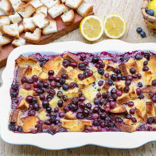 KISS Blueberry Lemon Overnight French Toast Bake (Gluten-Free).