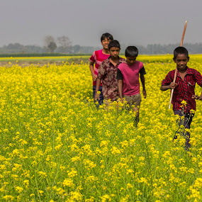 Childhood  by Qamrul Hassan Shajal - Babies & Children Toddlers ( canon eos 60dboat  qamrul hassan shajal bangladesh photography mustered children )