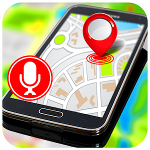 GPS Voice Route Finder Destination and Directions.