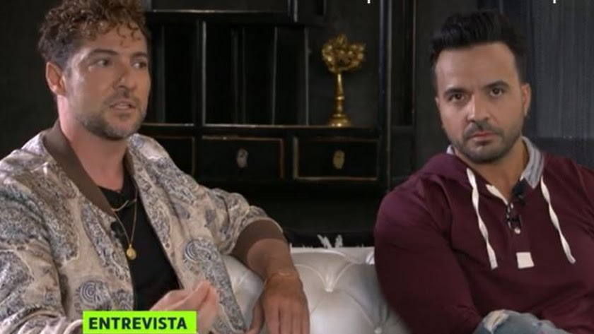 Bisbal y Fonsi, durante la entrevista en La Sexta.