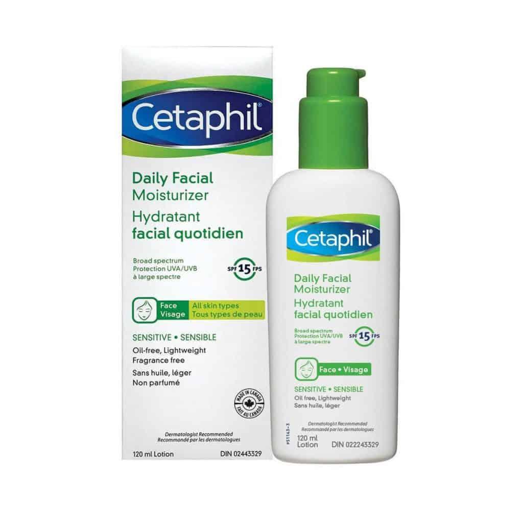 Cetaphil Daily Facial Moisturizer Lotion SPF15
