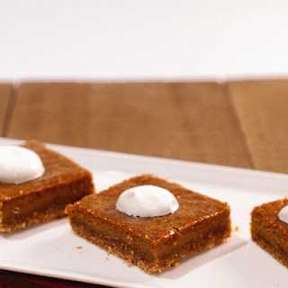 Bourbon Pumpkin Bars