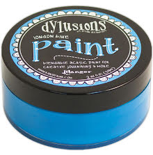 Dylusions Paint 59 ml - London Blue