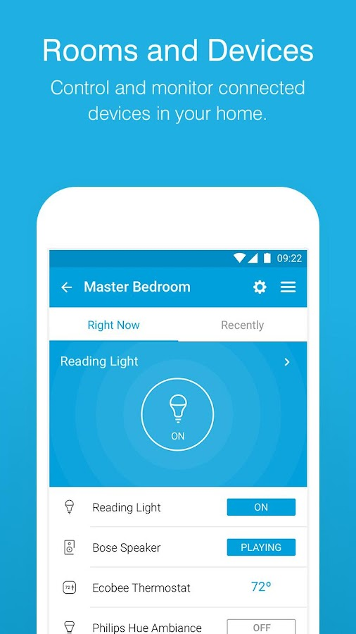 SmartThings Mobile- screenshot