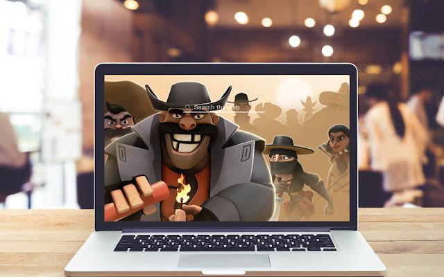 Pocket Cowboys HD Wallpapers Game Theme