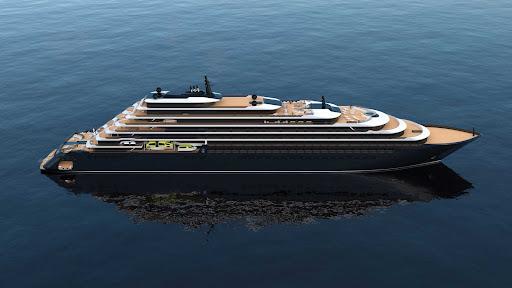 evrima-Evrima.jpg - The 298-passenger Evrima from Ritz-Carlton will begin its inaugural season in May 2022 in the Mediterranean.