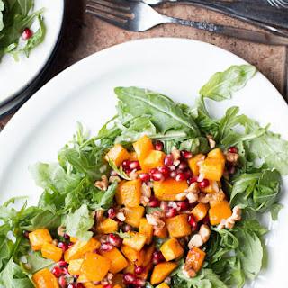 Roasted Butternut Squash & Arugula Salad