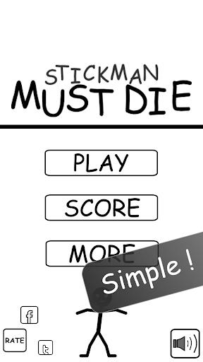 Stickman Must Die - Mini Games
