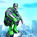 Frog Rope Ninja Hero : Ninja Hero Gangster Fight icon