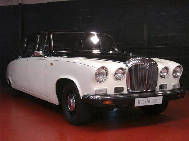 Daimler DS420 Limousine Hire Glasgow