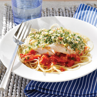 Greek-style Baked Fish.