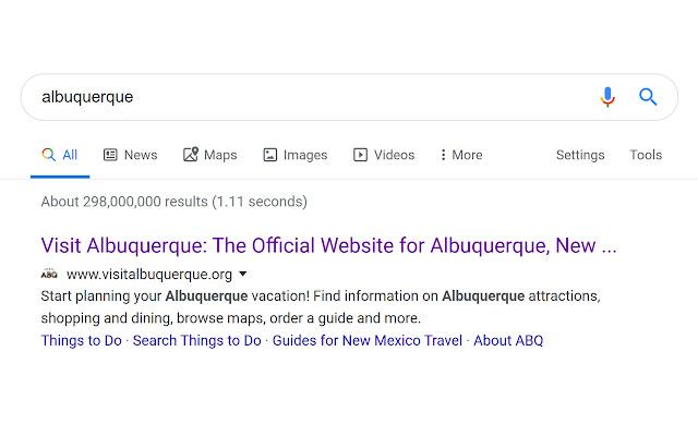 google-search-result-formatter