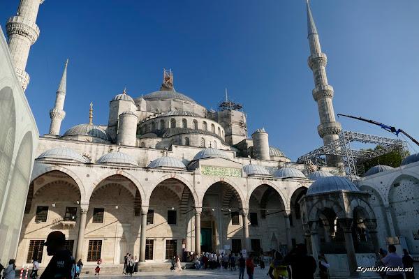 Bazar Egipski, parę meczetów, hipodrom iBłękitny Meczet