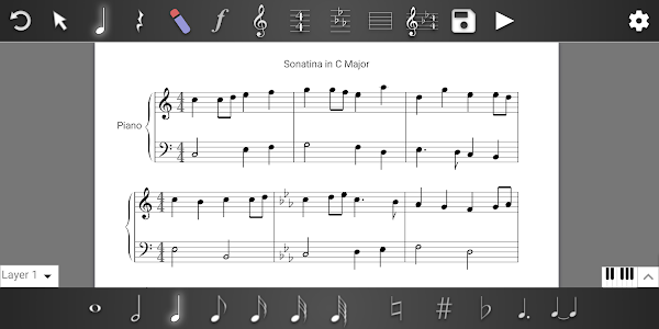 Music Writer - Sheet Music Creator and Composer 1.2.108
