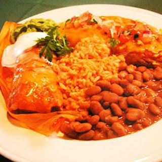 Famous Santa Barbara Fiesta Enchiladas