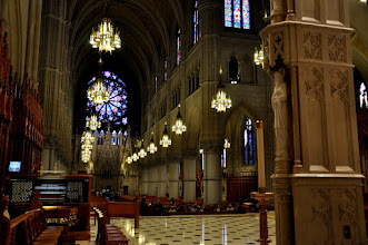 Photo: Sanctuary from behind the altar