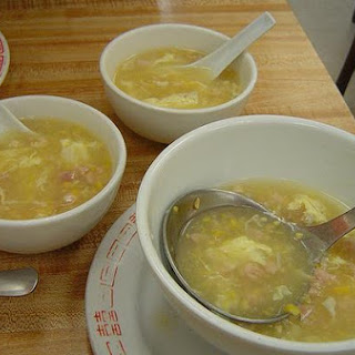 Chinese Corn and Shrimp Soup