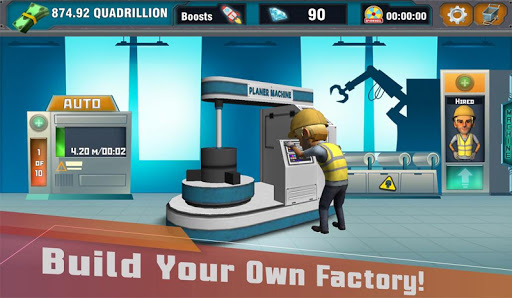 Factory Tycoon : Idle Clicker Game 0.4 screenshots 1