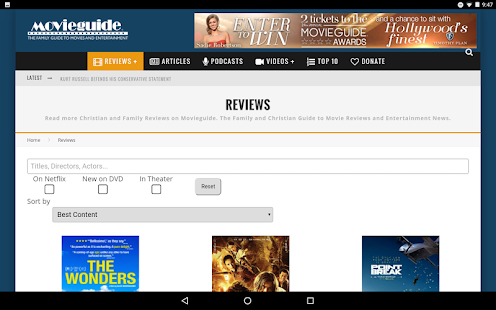 Movieguide®- screenshot thumbnail