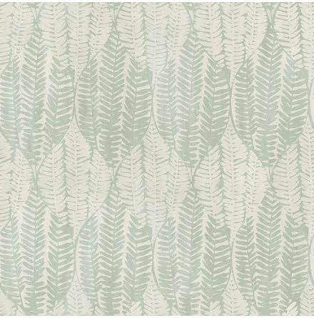 Galerie Bazaar G78341 Tapet med grafiskt bladmönster, Grön