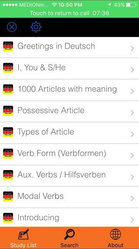 Basic german apk download apkpure basic german screenshot 3 m4hsunfo