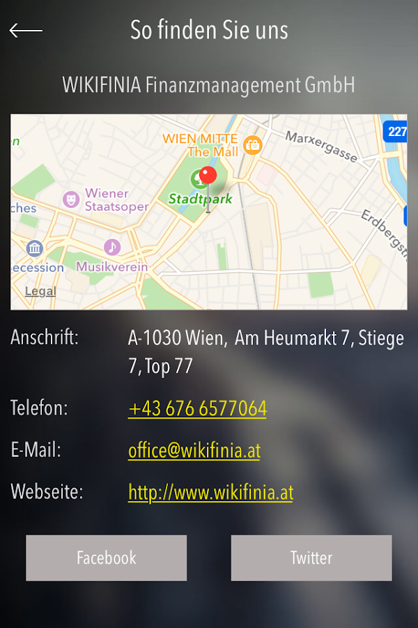 WIKIFINIA – Screenshot