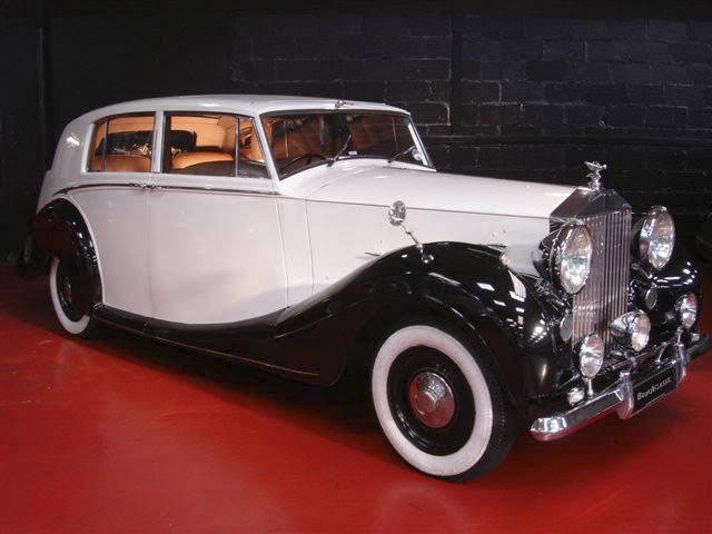 Rolls-Royce Silver Wraith Hire Glasgow