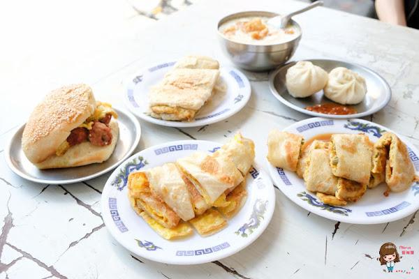 台北松山 秦小姐豆漿店 紅到國外的傳統早餐店-酸豇豆特別又好吃!