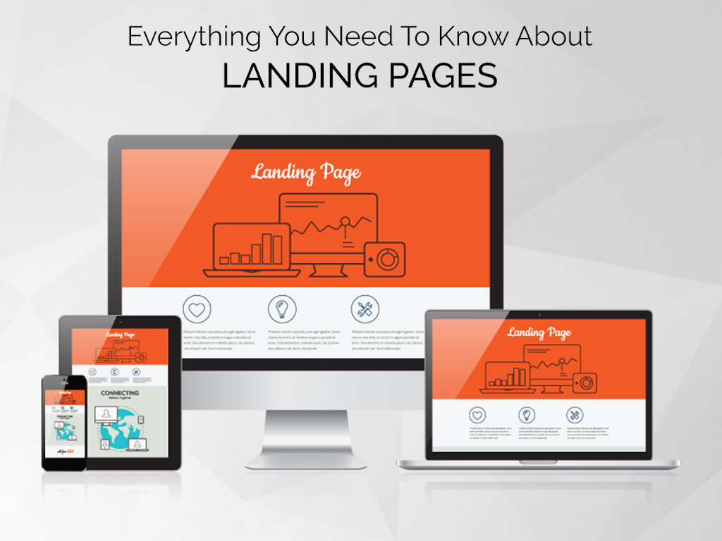Free Landing Page By Spade Design