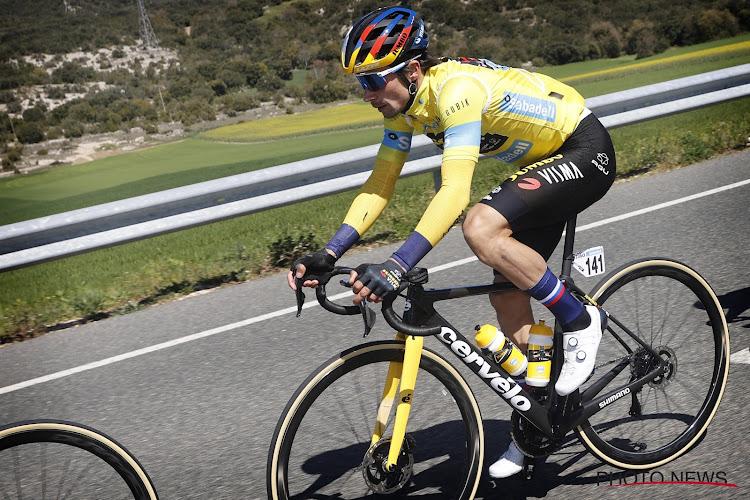 """Roglič kan leven met uitkomst rit 3 en houdt hoofddoel voor ogen: """"Pogačar iets beter in sprint, moet waakzaam zijn"""""""