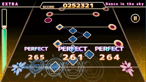 ChainBeeT 本格音ゲー  【無料 リズムゲーム 音楽ゲーム】 screenshots 1