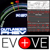 EvBatMon for Outlander PHEV