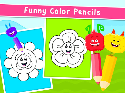 Coloring Games for Kids - Drawing & Color Book  screenshots 16