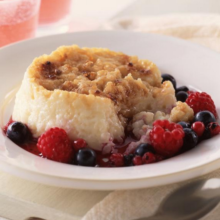 Caramelized Rice Pudding with Summer Fruit Recipe | Yummly